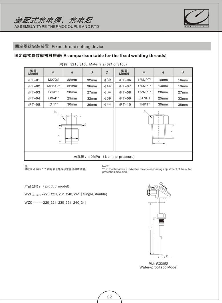 装配式热电偶(阻)(图11)